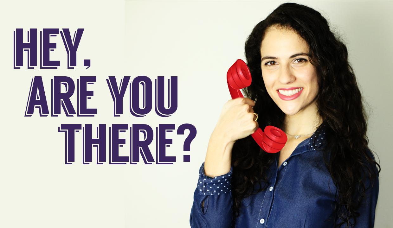 Como atender o telefone em inglês?