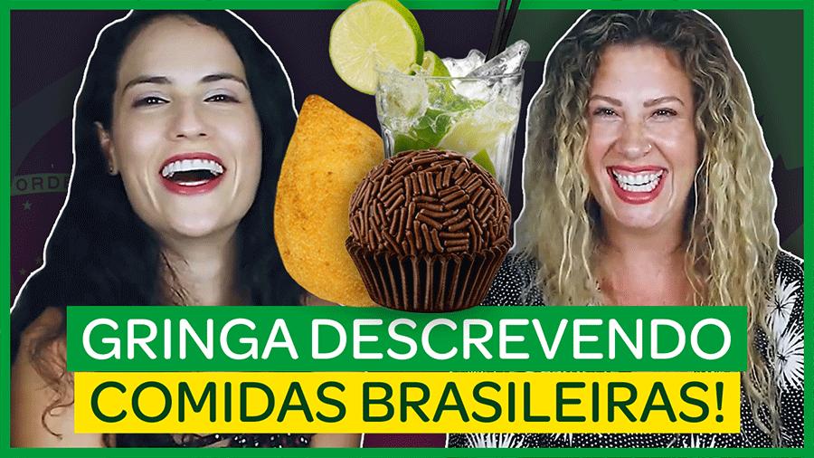 Gringa desvendando comidas típicas brasileiras